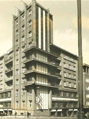 Hasičský dům. Zdroj: archiv D. Součka