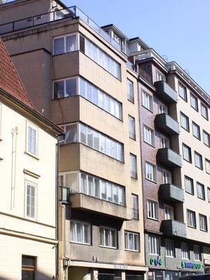 Dům Štěpánská 534/4. Foto: P. Líbal