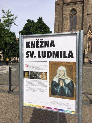 Výstava Kněžna sv. Ludmila. Foto: MČ Praha 2