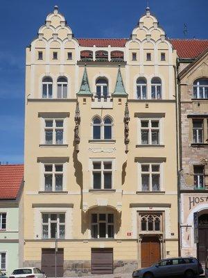 Dům Vratislavova 17 (Foto M. Polák, květen 2021)